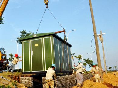 送变电工程设计、安装及施工