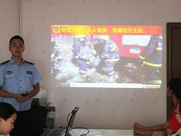 鑫川电开展消防安全培训讲座